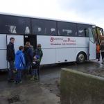 Met de bus op excursie